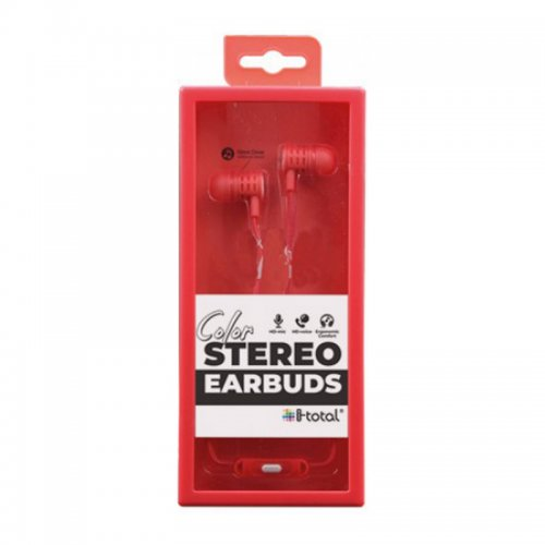 Ακουστικά i-total Stereo Earbuds (σε Διάφορα Χρώματα) - 6