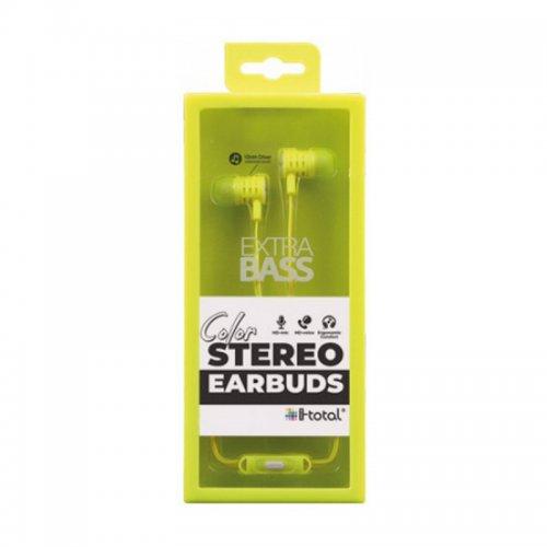 Ακουστικά i-total Stereo Earbuds (σε Διάφορα Χρώματα) - 7