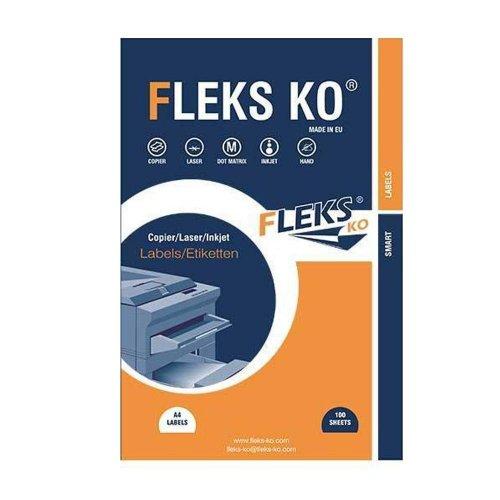 Αυτοκόλλητες Ετικέτες sticki label 210x297 Κουτί 100 Φύλλων - 1