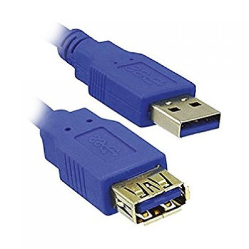 Καλώδιο USB 3.0 Extension MediaRange AM/AF 3.0M Μπλε (MRCS145) - 1