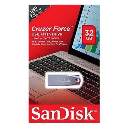 USB 2.0 SanDisk Cruzer Force 16GB (SDCZ71-016G-B35) (SANSDCZ71-016G-B35) - 2