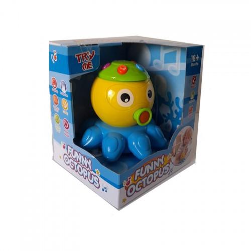 Βρεφικό Παιχνίδι Funny Octopus 65151