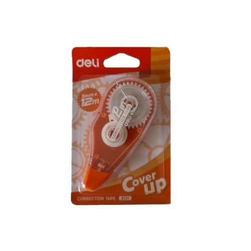 Διορθωτική Ταινία Deli Correction Tape 8137 5mmx12m - 2