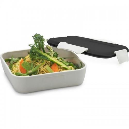 Δοχείο Φαγητού Smash Dining At Work Μπεζ Με Μαύρο Καπάκι 950ml 4473 - 2