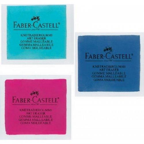 Γόμα Faber-Castell Art Eraser Carbon (Σε Διάφορα Χρώματα) - 1