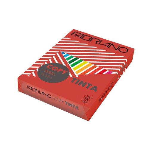 Χαρτί Εκτύπωσης Fabriano Tinta A4 160 250 φ. FG Strong Κόκκινο - 1