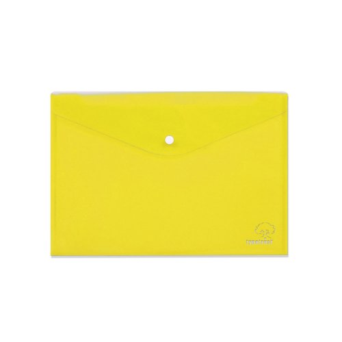 Φάκελος Με Κουμπί TypoTrust Α4 Κίτρινο - 1