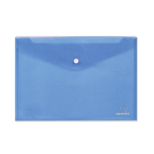 Φάκελος Με Κουμπί TypoTrust Α4 Μπλε
