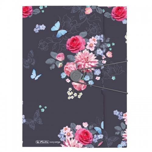 Φάκελος Πορτοφόλι Herlitz Ladylike Flowers A4 50021598
