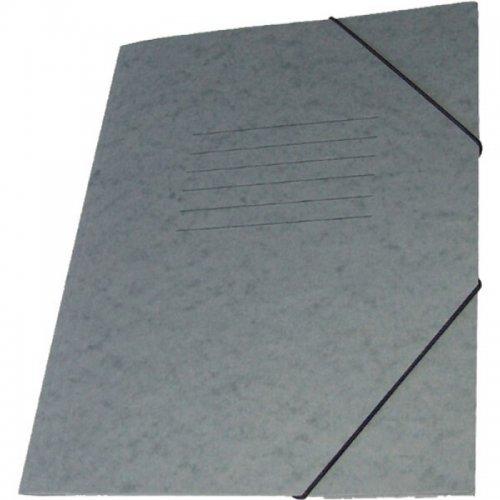 Φάκελος με Λάστιχο Prespan Premium Γκρι - 1