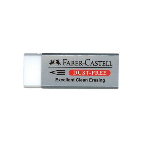 Γόμα Faber-Castell Dust-Free 187120 White - 1