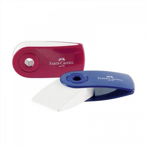 Γόμα Faber-Castell SLEEVE Mini Eraser (Σε Διάφορα Χρώματα)