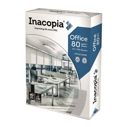 Inacopia A4 80gsm 500φ