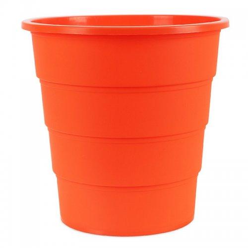 Κάδος Αχρήστων Office Products, Τύπος Κουβά, 16L Πορτοκαλί - 1