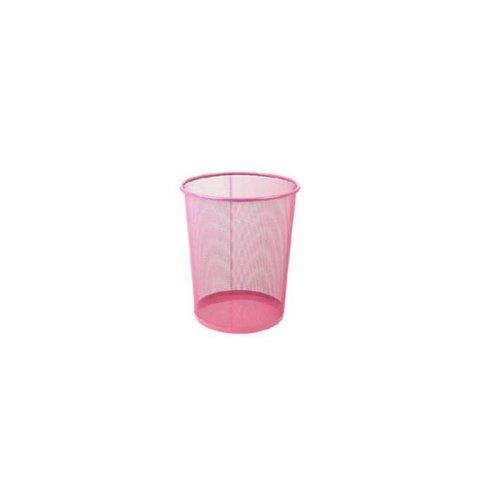 Καλάθι Αχρήστων Μεταλλικό Χρωματιστό 081509 Ματζέντα - 1