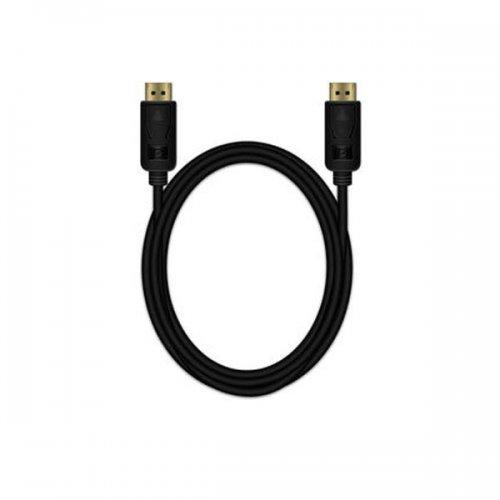 Καλώδιο DisplayPort MediaRange Επιχρυσωμένες επαφές 2.0M, Μαύρο (MRCS159)