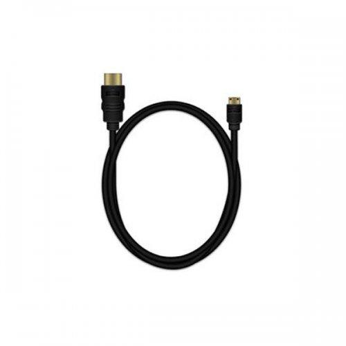 Καλώδιο HDMI/Mini HDMI MediaRange High Speed connection με Ethernet 1.5M Μαύρο (MRCS165)