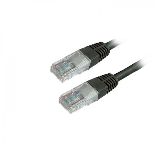 Καλώδιο Δικτύου UTP MediaRange CAT 6 RJ45/RJ45 1.0M Μαύρο (MRCS119) - 1