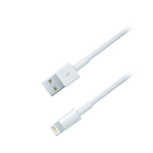 Καλώδιο MediaRange USB 2.0 A plugApple lightning plug (8-pin) 1.0M Λευκό (MRCS137)