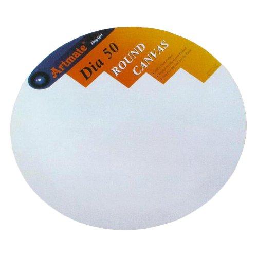Καμβάς Ζωγραφικής Στρογγυλός Artmate 50cm - 1