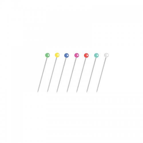 Καρφίτσες Forofis Sationery Pens 38mm Χρωματιστές Κεφαλές 100 τεμ. - 2