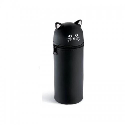 Kασετίνα Βαρελάκι Με Σιλικόνη Miquelrius My Little Pet Μαύρο 16x6cm 19035