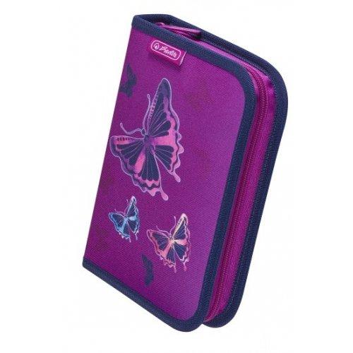 Κασετίνα Κενή Herlitz 50020805 Glitter Butterfly - 1