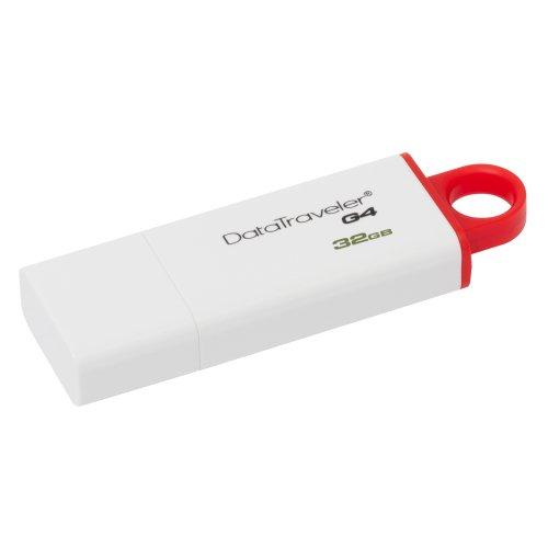 Kingston Data Traveler G4 DTIG4 32GB USB 3.0 Λευκό-Κόκκινο (DTIG4/32GB) (KINDTIG4/32GB) - 3
