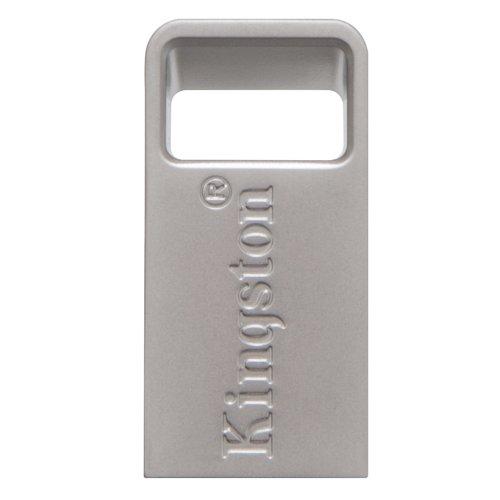 USB 3.1 Flash Drive Kingston DataTraveler Micro 32GB Ασημί (DTMC3/32GB) (KINDTMC3/32GB) - 4