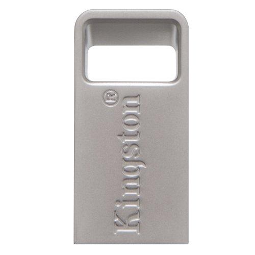 USB 3.1 Flash Drive Kingston DataTraveler Micro 64GB Ασημί (DTMC3/64GB) (KINDTMC3/64GB0) - 2
