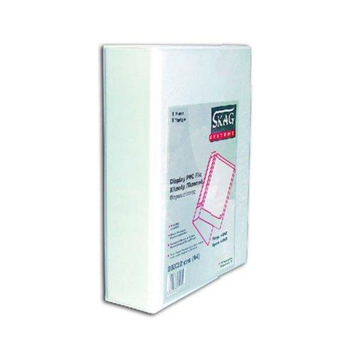 Κλασέρ Παρουσίασης Skag Systems Λευκό 2-45D