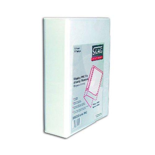 Κλασέρ Παρουσίασης Skag Systems Λευκό 4-50D