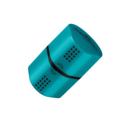 Ξύστρα Faber-Castell Grip Γαλάζιο - 1