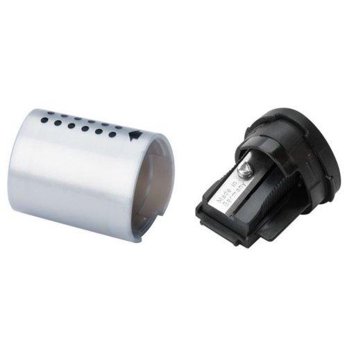 Ξύστρα Faber-Castell Grip Mini Ασημί - 3