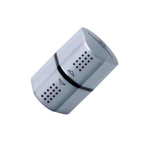 Ξύστρα Faber-Castell Grip Ασημί - 1