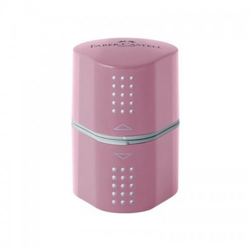 Ξύστρα Faber-Castell Grip Ροζ