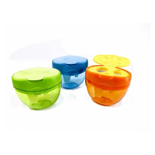 Ξύστρα Τριπλή KeyRoad Σε Διάφορα Χρώματα KR971431 - 1