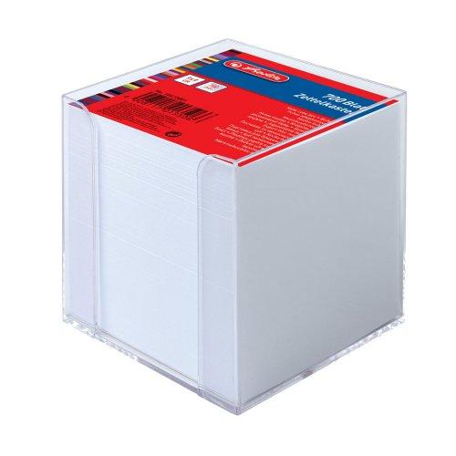 Κύβος Πλαστικός Με Χαρτάκια Σημειώσεων Herlitz (700φ)