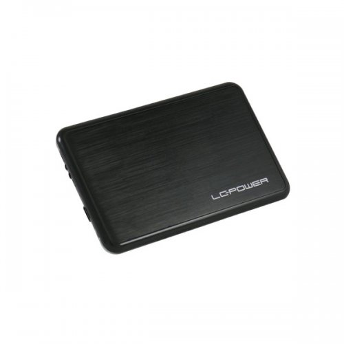 Θήκη Σκληρού Δίσκου 2.5 SATA USB 2.0 LC Power Μαύρο (LCPRO25BUB)