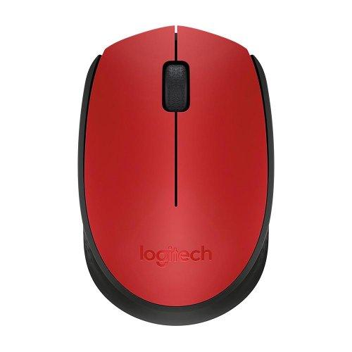 Ποντίκι Ασύρματο Logitech M171 Κόκκινο (910-004641) (LOGM171RED) - 2