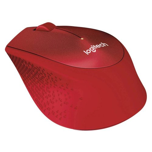 Ποντίκι Αθόρυβο Logitech M330 SILENT PLUS Κόκκινο (LOGM330RED)