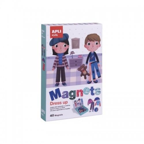 Μαγνητικό Κουτί Dress Up Apli Kids 17557