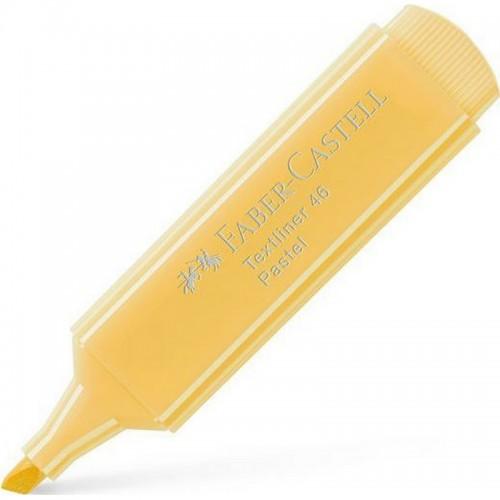 Μαρκαδόρος Υπογράμμισης Faber Castell Textliner 46 Παστέλ Κίτρινο