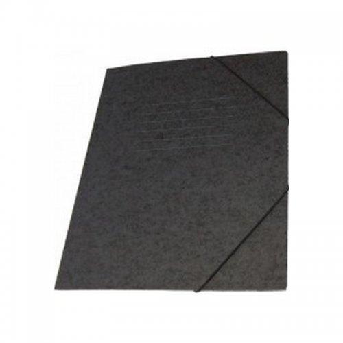 Ντοσιέ Με Λάστιχο Prespan Premium Μαύρο 12802 (25 x 35 cm)