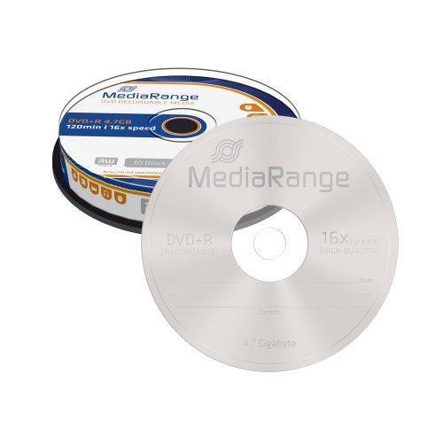 DVD+R 120 4.7GB 16x MediaRange 10 Τεμ. (MR453)