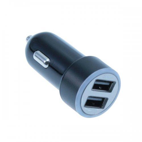 Φορτιστής Αυτοκινήτου MediaRange 3.4A Dual USB output (Μαύρο-Ασημί) (MRMA103-02)