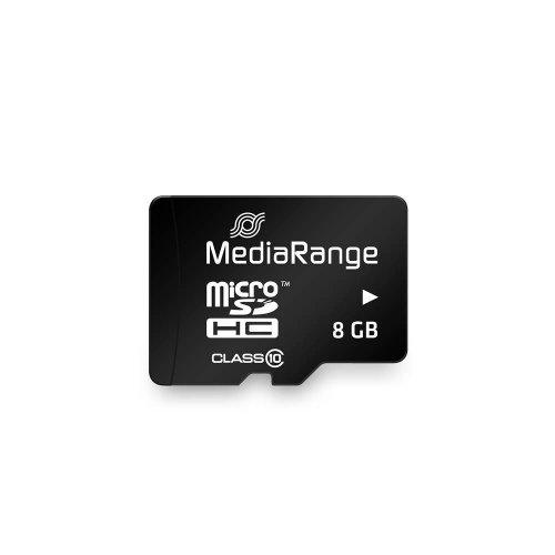 Κάρτα Μνήμης MediaRange Micro SDHC Class 10 With SD Adaptor 8 GB (High Capacity) (MR957) - 3
