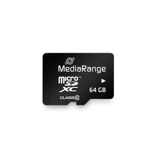 Κάρτα Μνήμης MediaRange Micro SDXC Class 10 With SD Adaptor 64 GB (eXtended Capacity) (MR955) - 2