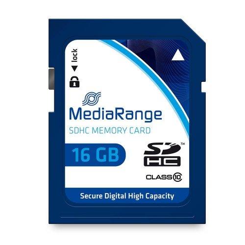 Κάρτα Μνήμης MediaRange SDHC Class 10 16 GB (High Capacity) (MR963) - 1