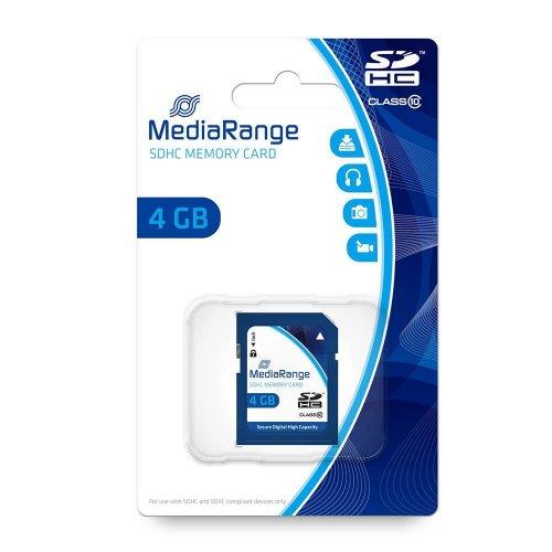Κάρτα Μνήμης MediaRange SDHC Class 10 4 GB (High Capacity) (MR961) - 2